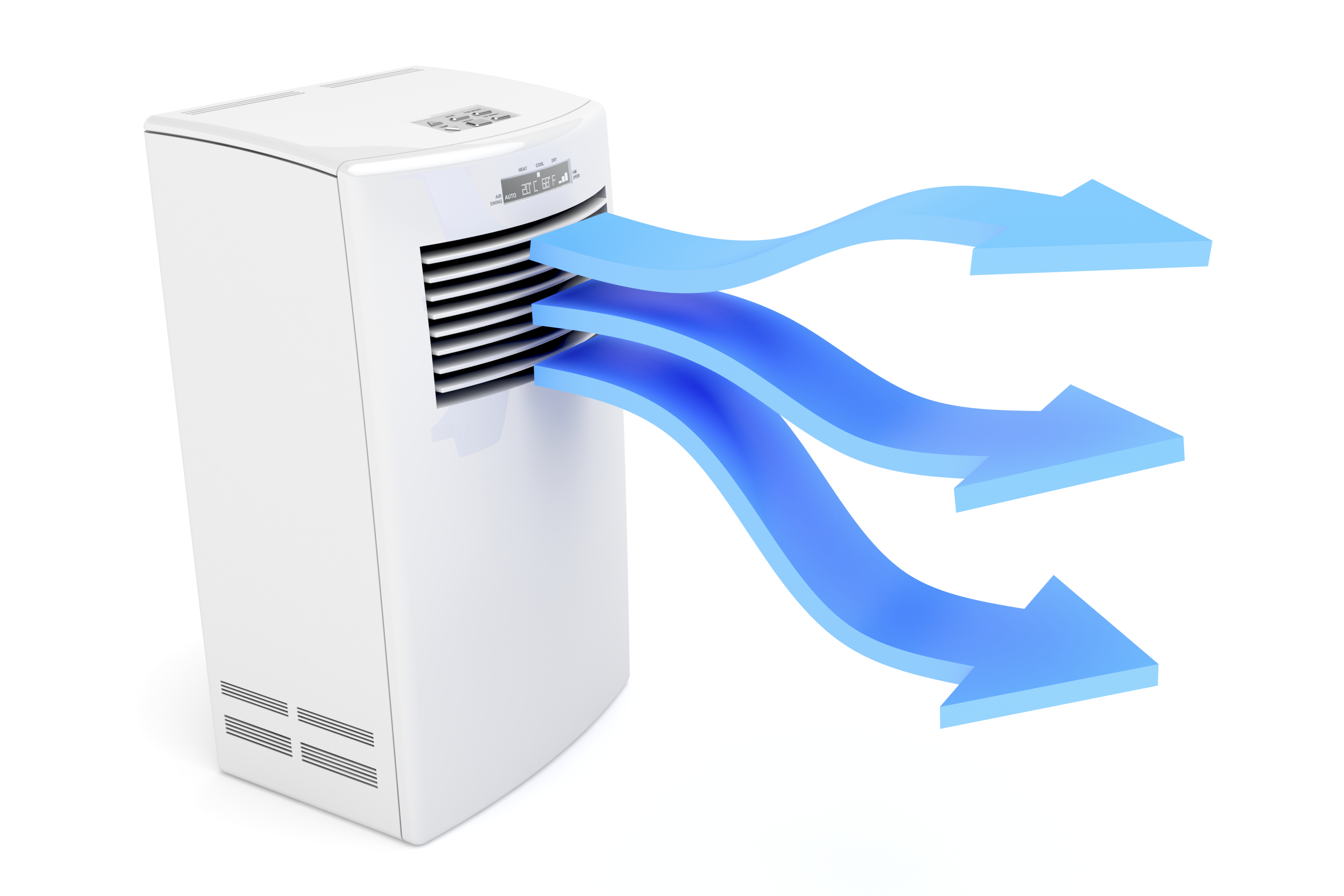 Window air conditioner versus portable air conditioner for Heat setting for home