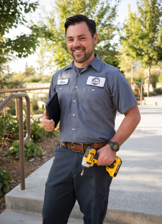 Access Heating & Air Employee James